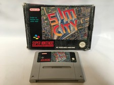 Super Nintendo Sim City SNES incl. Doosje
