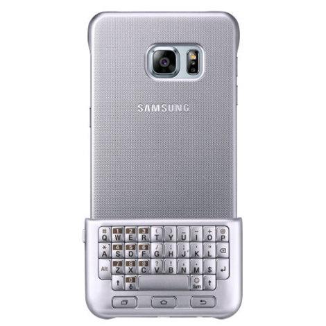 Nieuw! Samsung Galaxy S6 Edge + Keyboard Cover