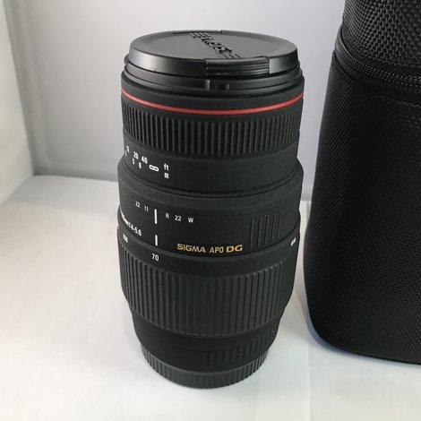 Sigma Apo DG 70-300mm f/4-5.6 Canon Objectief
