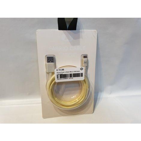 Nieuw Fresh 'n Rebel Micro USB Kabel 1.5m Geel