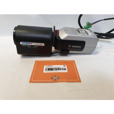 Bosch DinionXF Color Camera   Computar TV Zoomlens 8-48mm f/1.2
