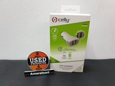Celly Car Charger 3.4A 2x USB