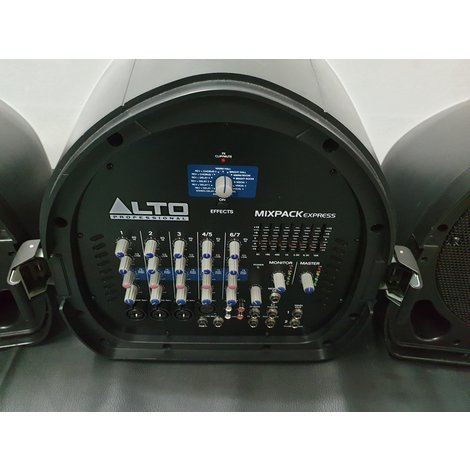 Alto Mixpack Express Portable PA Systeem met Eindtrap