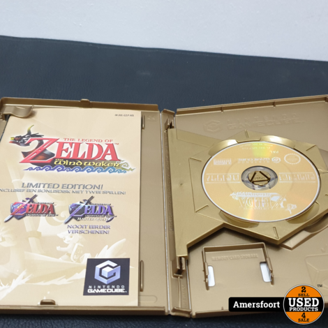Gamecube The Legend of Zelda The WindWaker Limited Edition