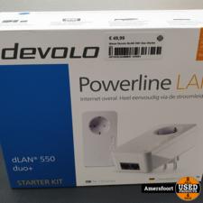 NIEUW Devolo DLAN 550+ Duo Starter Kit