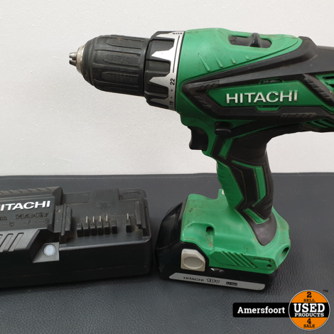 Hitachi DS18DJL Schroefmachine inclusief 2 accu's