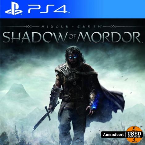 PS4 Shadow of Mordor Playstation 4