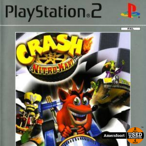 PS2 Crash Nitro Kart Playstation 2