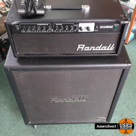 Randall RX120D Gitaarversterker  RS412KHX Gitaarkast   Kirk Hammett