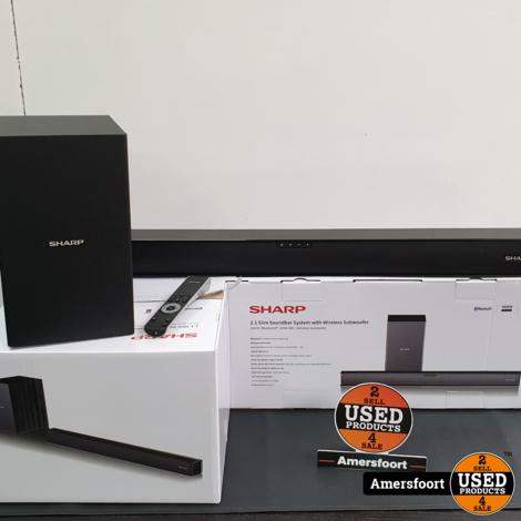 NIEUW Sharp HT-SBW182 2.1 soundbar met subwoofer