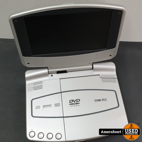 Tom-Tec Portable DVD Speler