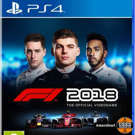 PS4 Formule 1 F1 2018 Playstation 4