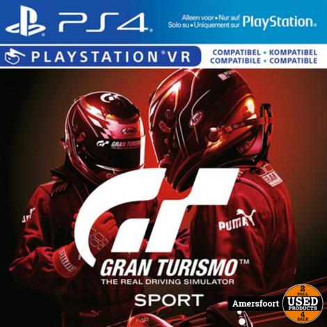 PS4 Gran Turismo Sport Nieuw Playstation 4