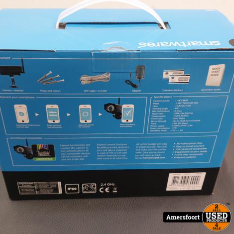 Nieuw Smartwares IP Camera HD Wireless C923IP