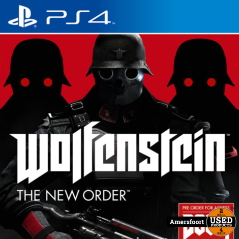 PS4 Wolfenstein The New Order Playstation 4