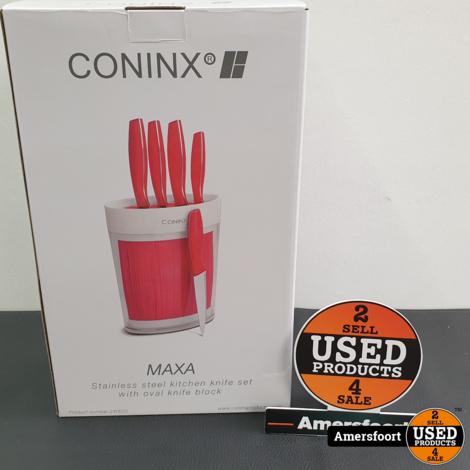 Coninx 5-Delig Messenset Rood