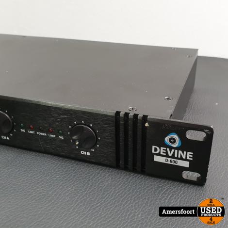 Devine Versterker 2x 300W | D-600