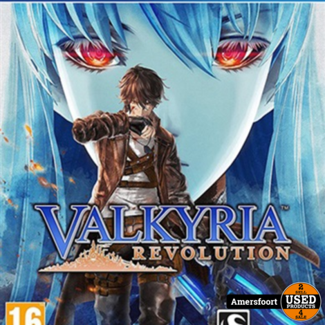 Ps4 Valkyria Limited edition
