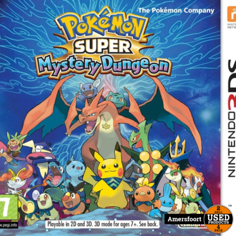 Nintendo 3DS Pokemon Mystery Dungeon
