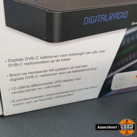 Quantis Digitale Radio Tuner QE 317