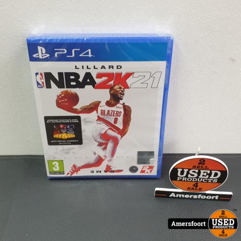 PS4 NBA2K21 Nieuw NBA 2K 21 Playstation 4