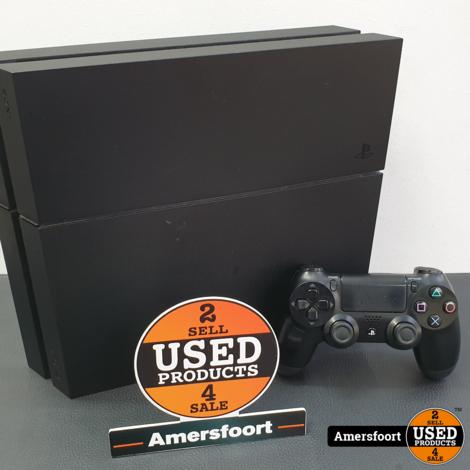 Playstation 4 1TB Mat Zwart Spelcomputer