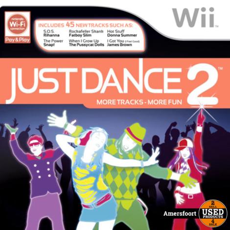 Wii Just Dance 2 Nintendo Wii