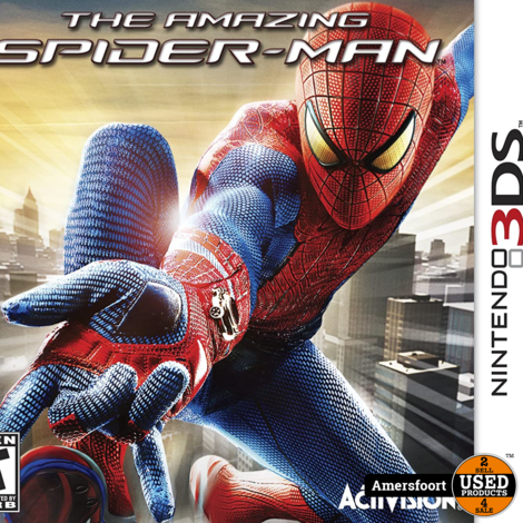 N3DS the Amazing Spider-Man Nintendo 3DS