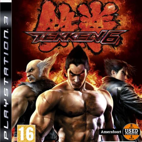 PS3 Tekken 6 Playstation 3