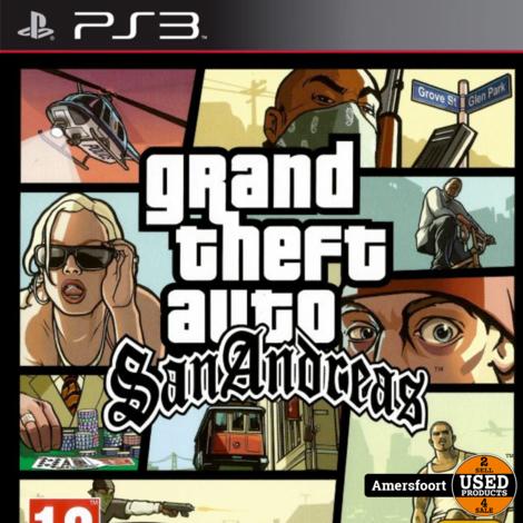 PS3 GTA San Andreas Playstation 3