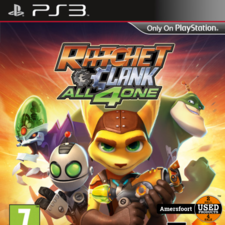 PS3 Ratchet & Clank All 4 One Playstation 3