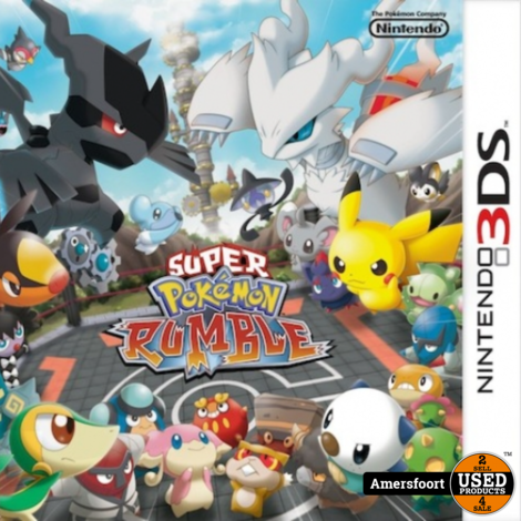 N3DS Super Pokemon Rumble Nintendo 3DS