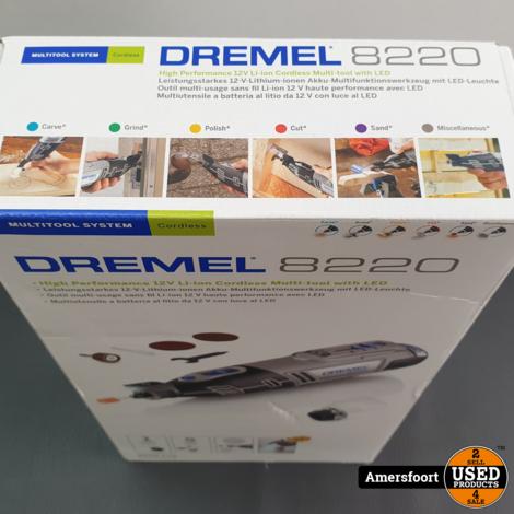 Dremel 8220 12V Multitool Nieuw