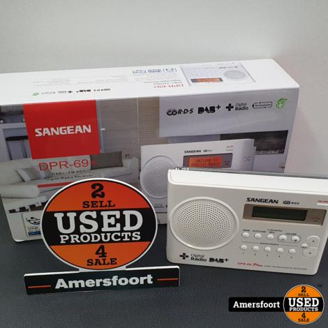 Sangean DPR-69 plus DAB+ Radio