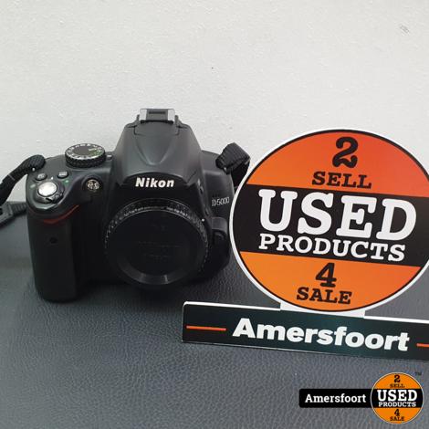 Nikon D5000 Spiegelreflex Camera Body