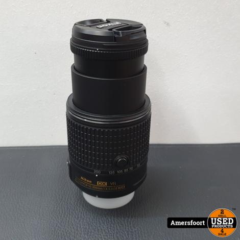 AF-S DX NIKKOR 55-200mm f/4-5.6G ED VR II Objectief