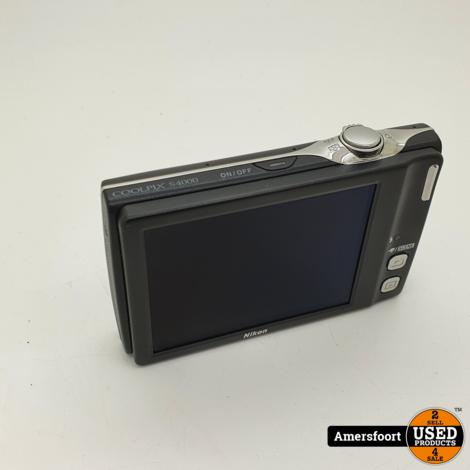 Nikon Coolpix S4000 12 MP Digitale Camera