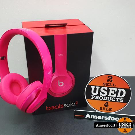 Beats Solo 2 Roze Koptelefoon