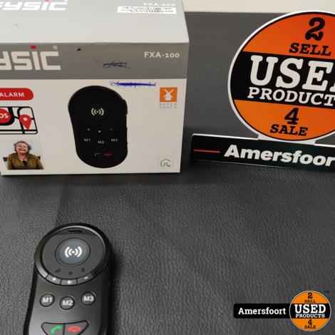 Fysic FXA-100 draadloze SOS alarmknop | met GPS | telefoon
