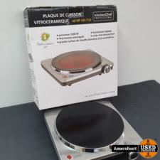 Kitchen Chef Infrarood Kookplaat HP102-T10