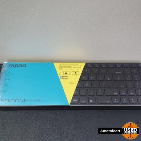 Rapoo E9100M Multi-Mode Toetsenbord