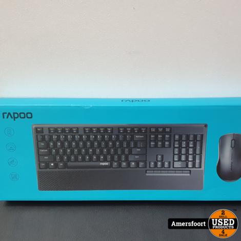 Rapoo X1960 Draadloos toetsenbord met optische muis
