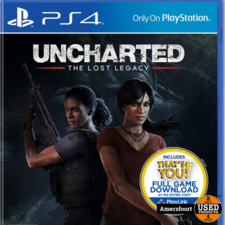 PS4 Uncharted The Lost Legacy Playstation 4