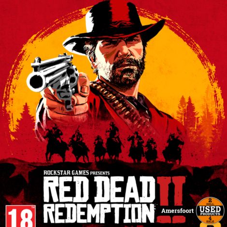 Ps4 Red Dead Redemption 2 Playstation 4