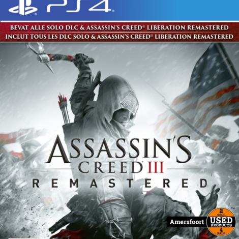 Ps4 Assassins Creed III Remastered Playstation 4