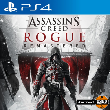 Ps4 Assassins Creed Rogue Remastered Playstation 4