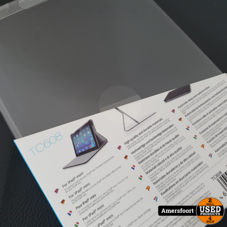 Rapoo iPad Mini 1/2/3 Cover | Hoes | Zwart | TC608