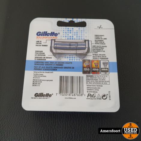 Gillette Skinguard Sensitive 4-Pack | Scheermesjes