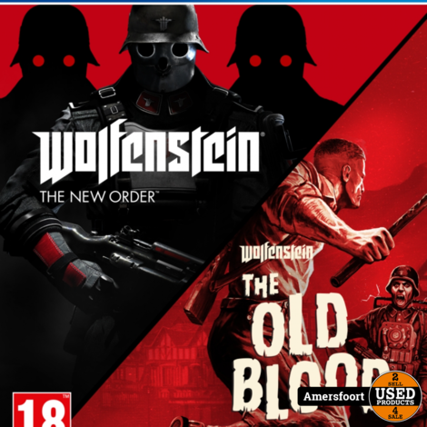 Ps4 Wolfenstein - The New Order & The Old Blood