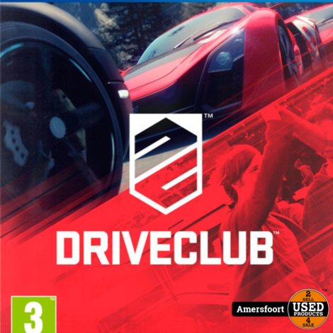 Ps4 DriveClub Playstation 4